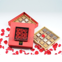 Wholesale Luxury Rose Chocolate Packing Box For Gift