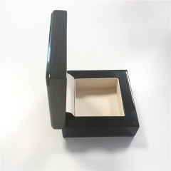 Wooden Lacquer Wooden Box with Clear Window for Watch Packaging Box