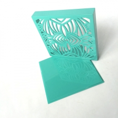 Wholesale Golden Foil/Painting Laser Cutting  Candy Packaging Box