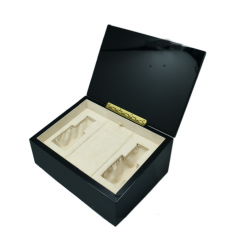 SAWTRU  Rectangle Piano Black Painting Wooden  Perfume Box