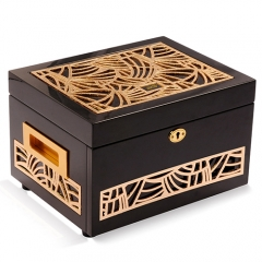 High Quality Fashion Gift Jewelry Box Luxury Wooden Jewelry Box with Glossy Painting