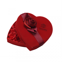 SAWTRU Red Heart Shaped Paper Box/Round Cardboard Chocolate Box for Packing Manufacturer  Design