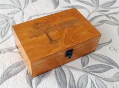 Custom quote wooden box