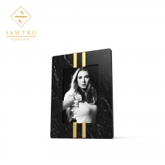 2019 High Quality Rectangle Gold Wooden  Photo Frame