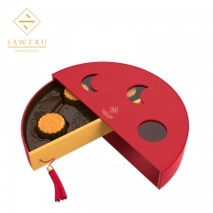 Hot Selling Luxury moon cake Paper Packing Box