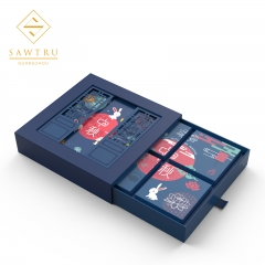 moon cake box engraving Gift Packaging Manufacturer